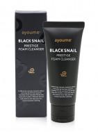 Пенка для умывания AYOUME BLACK SNAIL PRESTIGE FOAM CLEANSER 60мл