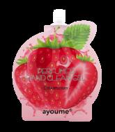 Гель для рук антибактериальный AYOUME perfumed hand clean gel strawberry 20мл