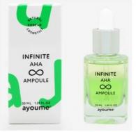 Сыворотка с АНА кислотами AYOUME INFINITE AHA AMPOULE 30мл